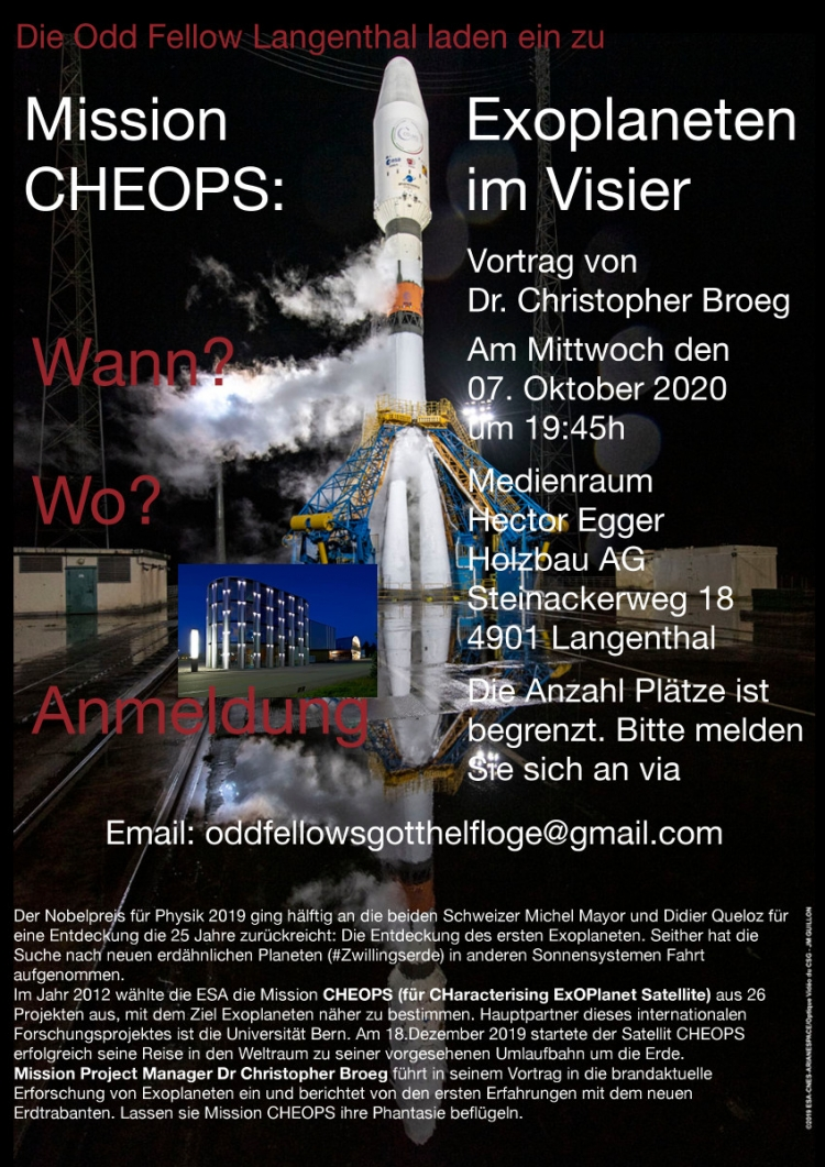 Flyer CHEOPS2021